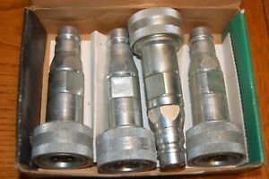 Lot Of 4 Imperial Eastman Hydraulic Adapters Hai 400 Replaces Safeway S25 4 7d