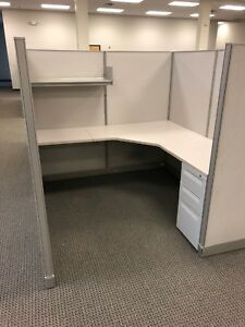 6ft X 6ft X 64 h Cubicle partition System By Haworth Office Furniture