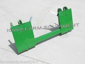 John Deere 145 146 148 158 Pin on Loader To Skid Steer Quick Attach Adapter