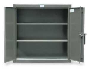 Counter Height Storage Cabinet welded Strong Hold 33 5 202