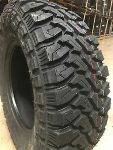 5 New 33x12 50r22 Centennial Dirt Commander M T Mud Tires Mt 33 12 50 22 R22 Lrf