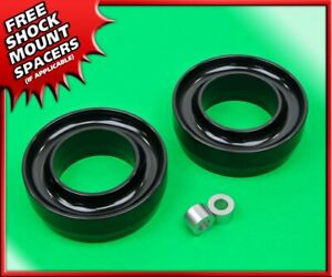 3 Front Black Billet Spring Spacers Level Lift Kit 1988 2007 Ford Ranger 2wd