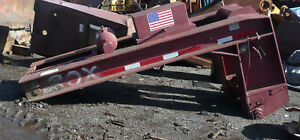 Used 50 ton Lowboy Heavy Equipment Hauler Trailer Head Only