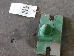 John Deere Front Tractor Cultivator Guide Tag 540
