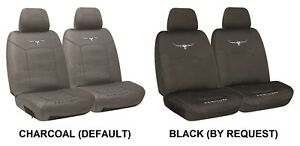 Pair R M Williams Cotton Canvas Seat Covers For Pontiac Fiero Rwd Coupe