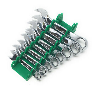 New Sk Tools 8 pc Stubby Box Open End Wrenches Made In Usa