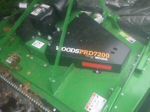 Woods Finish Mower Prd 7200