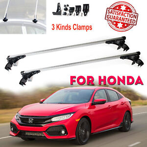Aluminum Roof Rack Cargo Car Top Luggage Cross Bars For Honda Accord Civic 06 17