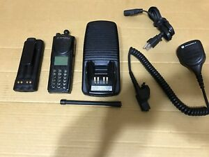 1 Police Fire Motorola Xts3000 3 Vhf P25 Digital Narrowband Radio W programming