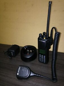 Police Fire Motorola Xts3000 3 Vhf P25 Digital Narrowband Radio W programming
