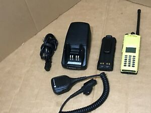 1 Fire Police Motorola Xts3000 3 Vhf P25 Digital Narrowband Radio W Programming