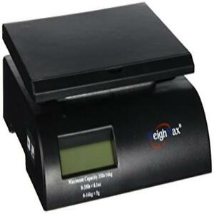 Weighmax Digital Postal Scale Black w 2822 35 blk Us Seller New
