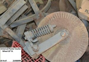 Universal Tractor Planter Coulter Wheel 19 D