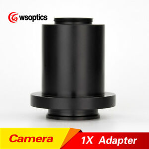 1x C mount Ccd Cmos Microscope Camera Adapter Coupler Cmount For Leica Hc