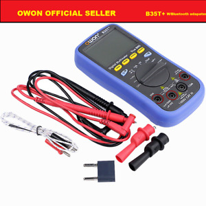Owon B35t Multimeter True Rms Measurement Bluetooth Ble 4 0 adapt Offline Rec