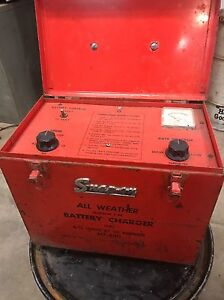 Vintage Snap on All Weather Battery Charger Mt 630 rare Find