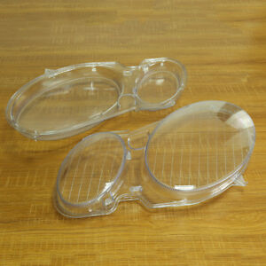 2 car Headlight Clear Lens Cover For Benz W211 E240 02 08 fits Mercedes benz