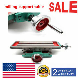 Milling Machine Bench Drilling Vise Worktable X Y axis Adjustment Table Fixture