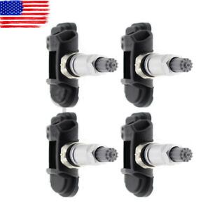 4pcs Oem Tpms Tire Pressure Sensor Set For Mercedes Benz Cls550 Cls63 Slk350 Amg