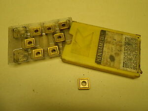 Kennametal Carbide Inserts Snmp432 Kc850 Lot Of 8