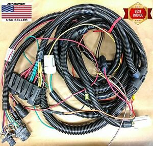 Hiniker Snow Plow 6 Function Wiring Harness Underhood Clc Sure Seal 38813033