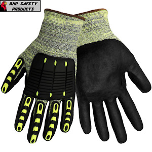 Global Glove Vise Gripster Cut Resistant Work Gloves Impact Cia609 Size X large