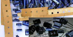 Set Of 575 Electrolytic Capacitors 1uf 1000uf 23 Types Assortment Kit