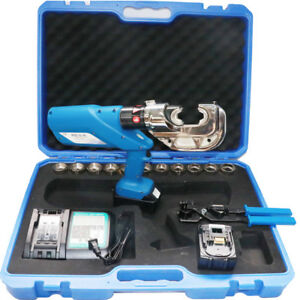 110 240v Rechargeable Hydraulic Pliers electric Hydraulic Crimping Tool 10 42mm