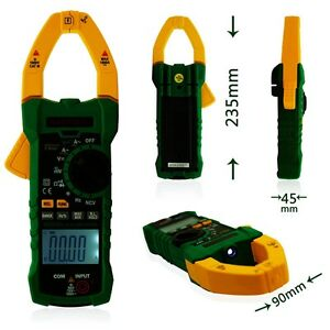 Mastech Ms2015a Ac Digital Clamp Meter Multimeter With Ncv Large Jaw 40mm 1000a