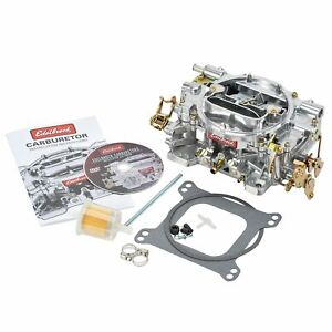 Edelbrock 1405 Manual Choke 600 Cfm Square Bore