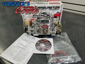 Edelbrock 1406 Carburetor Electric Choke 600 Cfm Square Bore