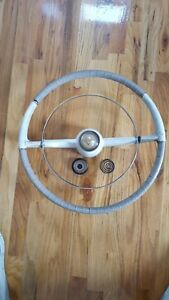 1955 Cadillac Steering Wheel Assembly With Horn Ring Button 410