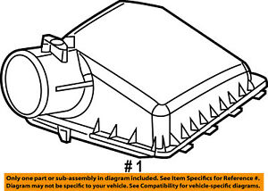 Air Cleaner Intake filter Box Housing Lid Top Cover 53034070ad