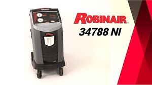Robinair 34788ni R 134a Refrigerant Recover Recycle And Recharge Mach wtc