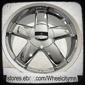 18 Inch Chrome Verde Skylon V32 Wheels Fits Ford Fusion Lincoln Mkz 5x108 5x4 5