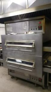 Middleby Marshall Ps360wb Double Stack Conveyor Pizza Oven
