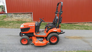 Very Nice 2016 Kubota Bx2670 4x4 Compact Tractor W 60 Belly Mower 46 Hrs