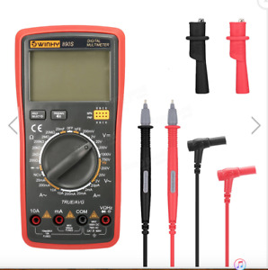 Winhy 890s Voice Value True Rms Digital Multimeter With Test Lead Crocodile Clip