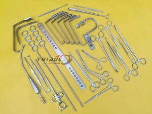 Tonsillectomy Set Of 27 Pcs Surgical Instruments Best Quality Tid
