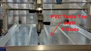 Robo shop Pro Cnc Router Pvc Table Top Upgrade Making It Happen