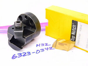 Used Kennametal Interchangeable Boring Head H32 With 2pcs Of Carbide Inserts