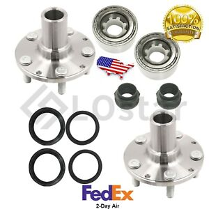 Pair 2 New Rear Wheel Hub Bearing Fits Subaru Legacy Forester With Seal