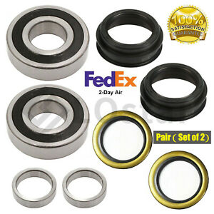 Pair 2 Rear Wheel Bearings Fits Toyota 4runner Tacoma T100 Pickup With Seal