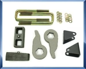 For 88 99 Chevy Gmc K2500 K3500 4wd 3 2 Lift Kit W Shock Extension Brackets