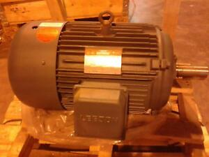 Lesson Electric 30hp Motor 170015 60 1770rpm 3phase 208 230 460v