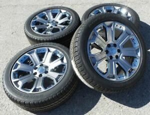 2018 Cadillac Escalade Gmc Yukon Denali Sierra 1500 Wheels Rims Tires Ck190 New