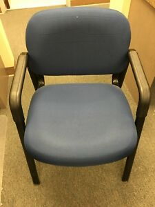 Cyrus Waiting Room Chairs Blue black