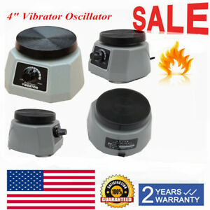 Dental Lab 100w 4 Round Vibrator Shaker Oscillator Variable Model For Dentist