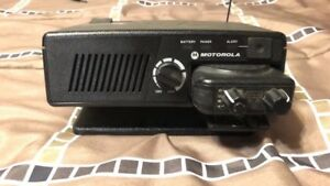 Motorola Minitor V Fire Ems Pager Amplified Charger Station Dock Complete