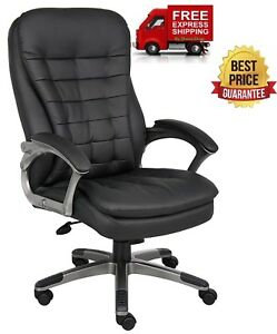 High Back Office Chair Big And Tall Executive Heavy Duty Armrest Ergonomic Dorm